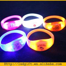 Sound activated LED Wristband flashing bracelets