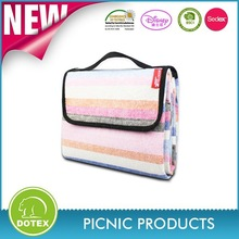 Famous Brand in cooperation Good quality picnic use mantas blankets