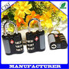 tsa lock wholesalers airport lock/tsa approved padlocks