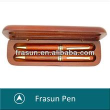 Rosewood Art Bussiness Eco Friendly Promotional Wooden Pen Gift Set