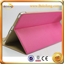 hot sale deep-pink 360 Degree Rotation Stylish Protective ABS Case Stand for Ipad AIR \ipad 5
