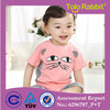 H2033 Baby Clothing Wholesale Summer Infants Two Pieces Clothes Set With Short Sleeve Good Quality