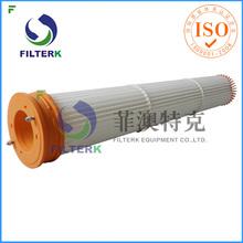 FILTERK WAM Silotop Pleated Cement Plant Bag Filter
