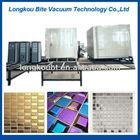 Crystal Glass Mosaic Machine / Decorative Vacuum Coating Machine / Surface coating for ceramic tile