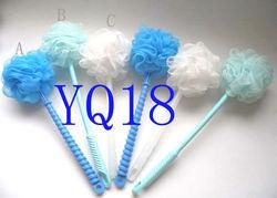 2012 hot sell bath sponge brush cleaning brush