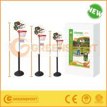Adjustable height basketball stand set