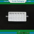 personalizado de plástico viales de la bandeja de la fábrica