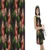 Floral Hawaiian Print Rayon Fabric For Pants