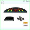 Car LED Parking Sensor Monitor Auto Reverse Backup Radar Detector System + Backlight Display + 4 Sensors Wholesale