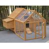 Wooden chicken coop sale with run CC001