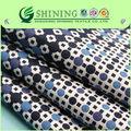 Mais recentes modelos de vestido tecido 100% algodão popeline impressão