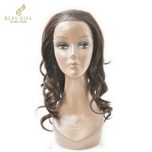 Human hair lace front wigs,Synthetic fiber wigs.