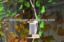 Inovadores inacabadas produtos de jardinagem selvagem alimentadores do pássaro e bebedouros