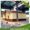fireproof wall board prefab Steel-structure villa red roof