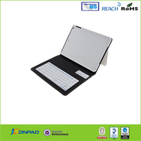 leather cover keyboard with power bank for ipad air