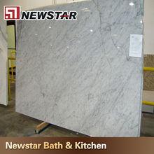 GradeAAAA natural Carrara sale white marble slab