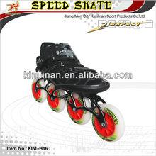 Speed skating roller skate, Speed inline roller skate