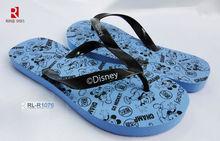 2014 brand name blue fin flip flops