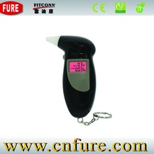 professional mini portable digital detector de alcohol with mouthpiece for alcohol testor