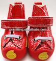 Novo design de alta qualidade pu+oxford produtos pet dog produtos pet sapatos para cão de estimação de roupas em xs, s, m, l, xl