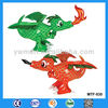 Promotional fire breathing colorful fighting dinosaurs toy for kids