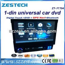 ZESTECH 1 din in-dash Single din one din universal in-dash car radio/car audio/car dvd player