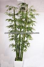 Lt082001artificial madera de árbol, decorativo de bambú artificiales, de alta calidad falso de bambú hecha en china
