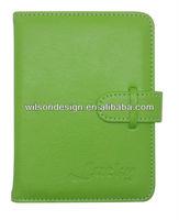 Custom designed PU leather passport covers