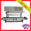 Vertical heating food bag sealer with high efficiency