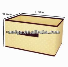 china beautiful waterproof storage box/non woven storage box/storage box