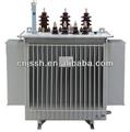 Caliente! S9 trifásico inmerso en aceite 10 kva de potencia del transformador 11kv