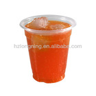 200ml 250ml 350ml 550ml disposable clear PP plastic cups