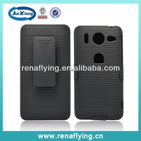 belt clip holster rubber case for huawei ascend g510