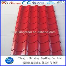 DX21-215-860 glazed steel roof tile roll