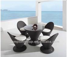 Nice design Alum PE wicker garden relax sofa patio furniture