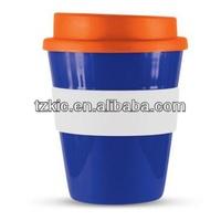BPA Free Coffee Cup Tumbler Mug Silicon Rubber Lid Sleeves