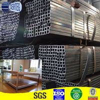 SS400 mild rectangular or square steel tubes for Myanmar