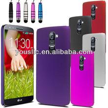Matt hard back moblie phone case for LG G2 D802