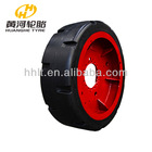 Solid polyurethane tire for underground mining equipment made in China manufacture