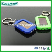 mini solar flashlight keychain led light promotion