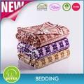 Bsci y SEDEX certificado precio competitivo retardante de llama diseño de la historieta impresa coral manta de lana