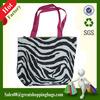 oxford shopping handle bag