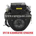 мощный двигатель 2v78f, мини-v образный двигатель ohv вырез- двухцилиндровый 22hp бензиновый двигатель