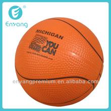 mini silicone basket ball for sport souvenir