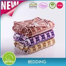Anti stretch fire retardant picnic use camo fleece fabric for blankets
