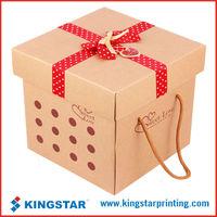 Kraft paper carton