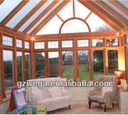 Wega new brand ! Luxury vacation prefabricated glass house