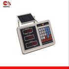 Digital weighing scales indicator solar panel