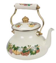 High Quality Cast Iron Enamel Coated Teapot Thailand Calabash Kettle