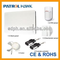 Hot! 24-hour Emergency Alarm Wireless Intruder Alarm System With Voice Alarm PH-G1